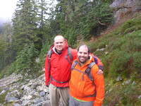2013-10-27 - Snow and Gem Lakes (with Nick K.)
